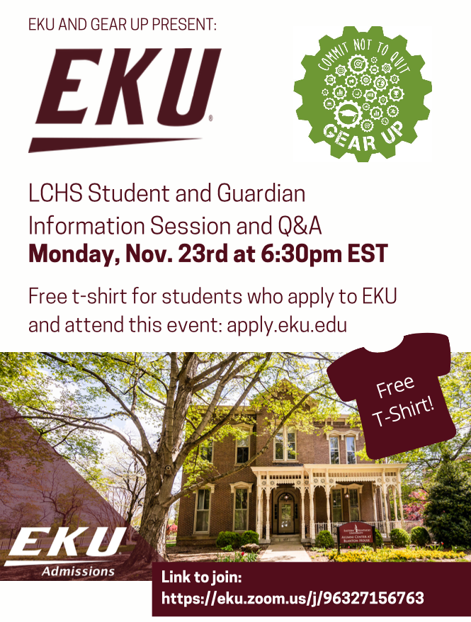 EKU and GEAR UP Present  Family Engagement Night