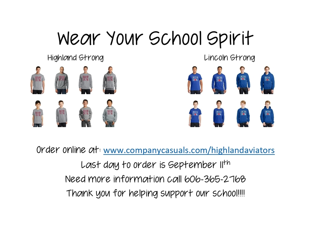 Wear Your School Spirit