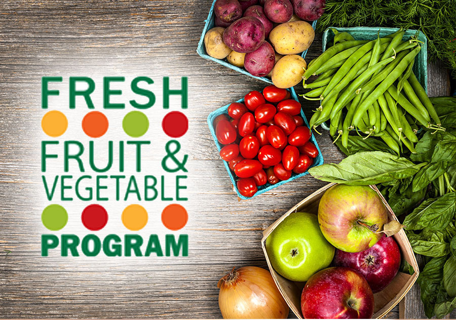 Elementary Schools Awarded $91,177.44 Fresh Fruit and Vegetable Program Grant