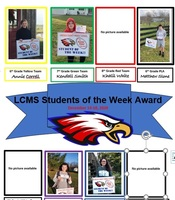 LCMS Students of the Week--December 14-18
