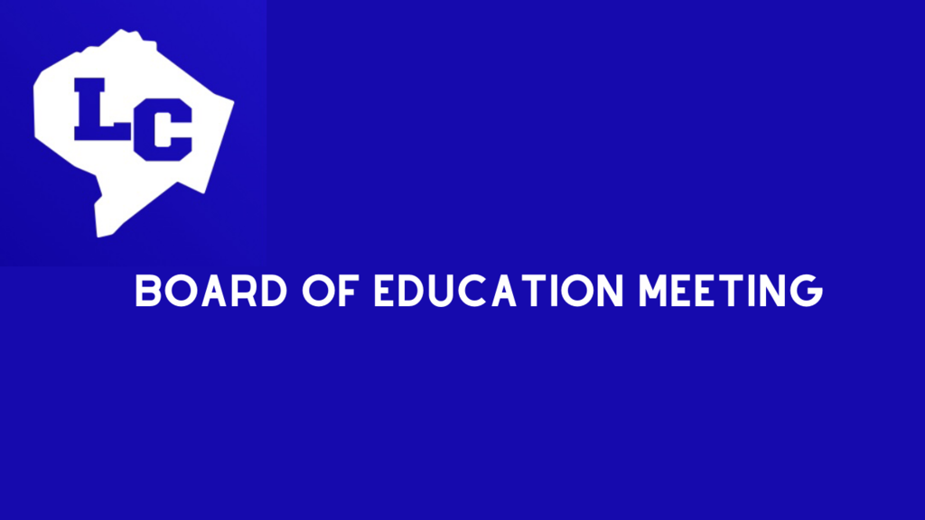 Board of Education meeting logo