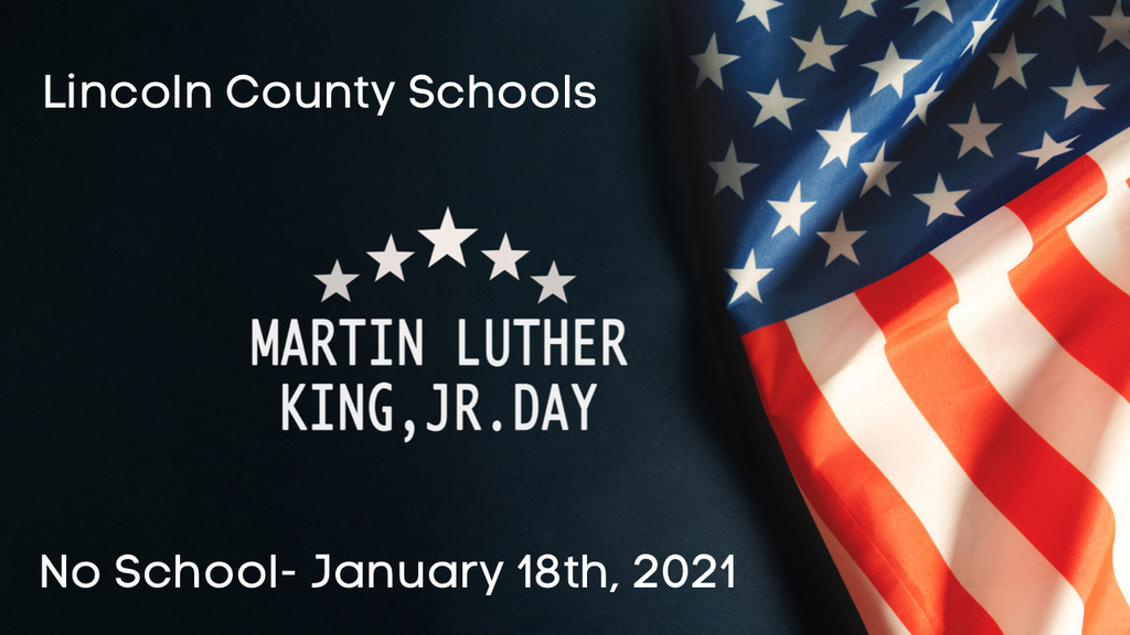 MLK Day, January 18th, 2021