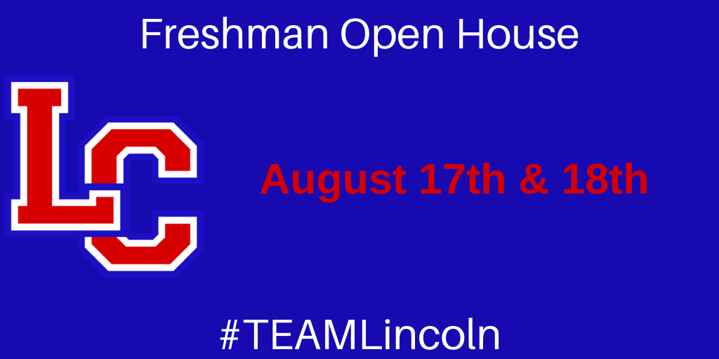 Freshman Open House with LC logo