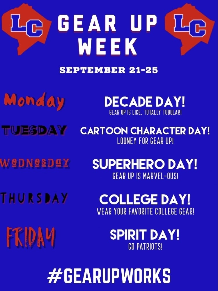 Gear Up Week poster