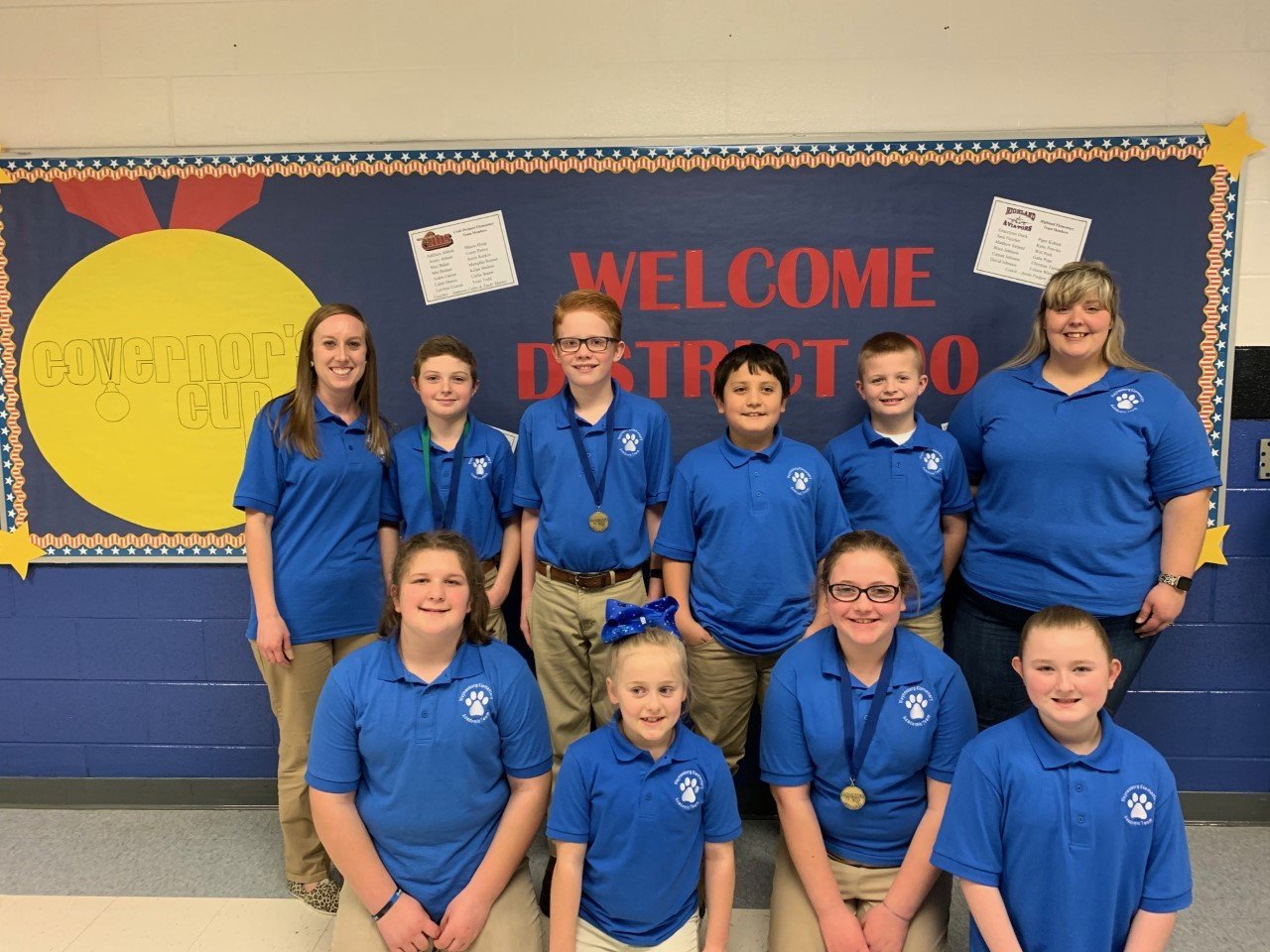 Academic Team at Governor's Cup