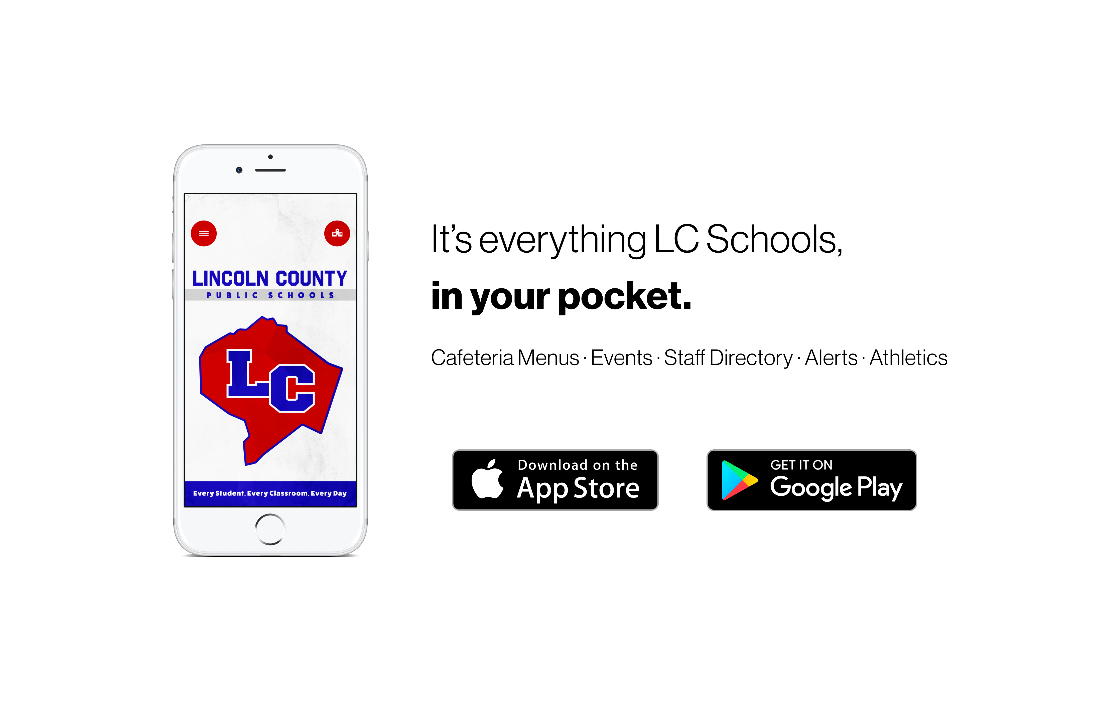 it's everything lc schools, in your pocket.